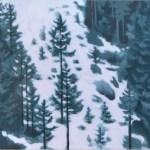 東山魁夷「雪の後」