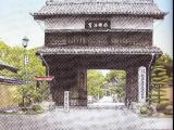 吉川幸作「崇福禅寺 山門」