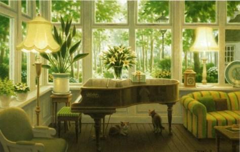 ピアノのある部屋→キャンパスジクレ