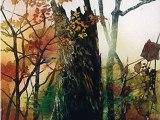 精霊たち-秋の中で(売却済み)