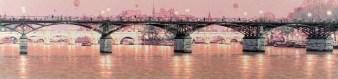 9、10月 芸術橋の上で
