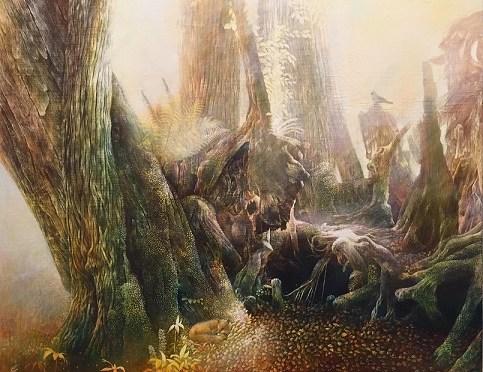 小島加奈子新作原画「augelus-天使の椅子」