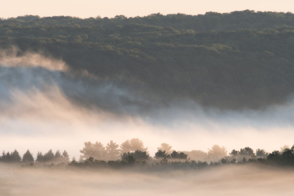 River Mist at Sunrise (William O'Brien State Park). Photo © Bruce Leventhal