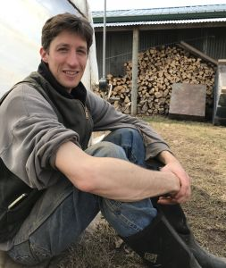At the Food Farm, hoop houses are heated with wood. Photo: SH