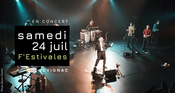 Agathe Ze bouse en concert à Juvignac le 24 juillet 2021