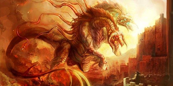 Afbeeldingsresultaat voor tweekoppige draak