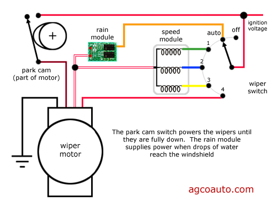 valeo rear wiper motor wiring diagram  wiring harness cable