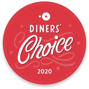 AG - Dinner' Choice Award - OpenTable 2020