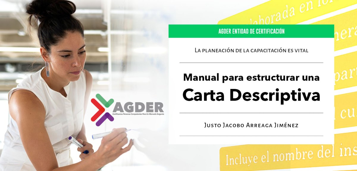 Manual Para Estructurar Una Carta Descriptiva de AGDER