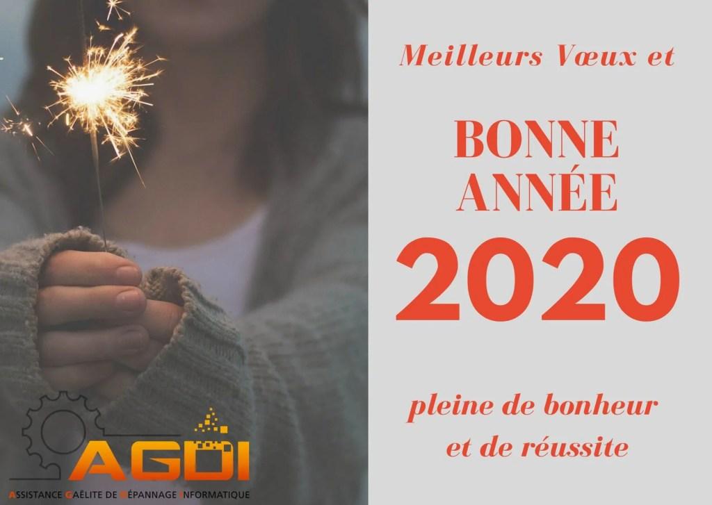 Bonne Année 2020 AGD