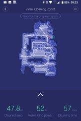 VIOMI Robot Vacuum V2 w aplikacji Mi Home / fot. techManiaK.pl
