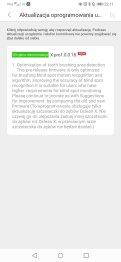 Aplikacja Oclean główne menu i ustawienia (4)