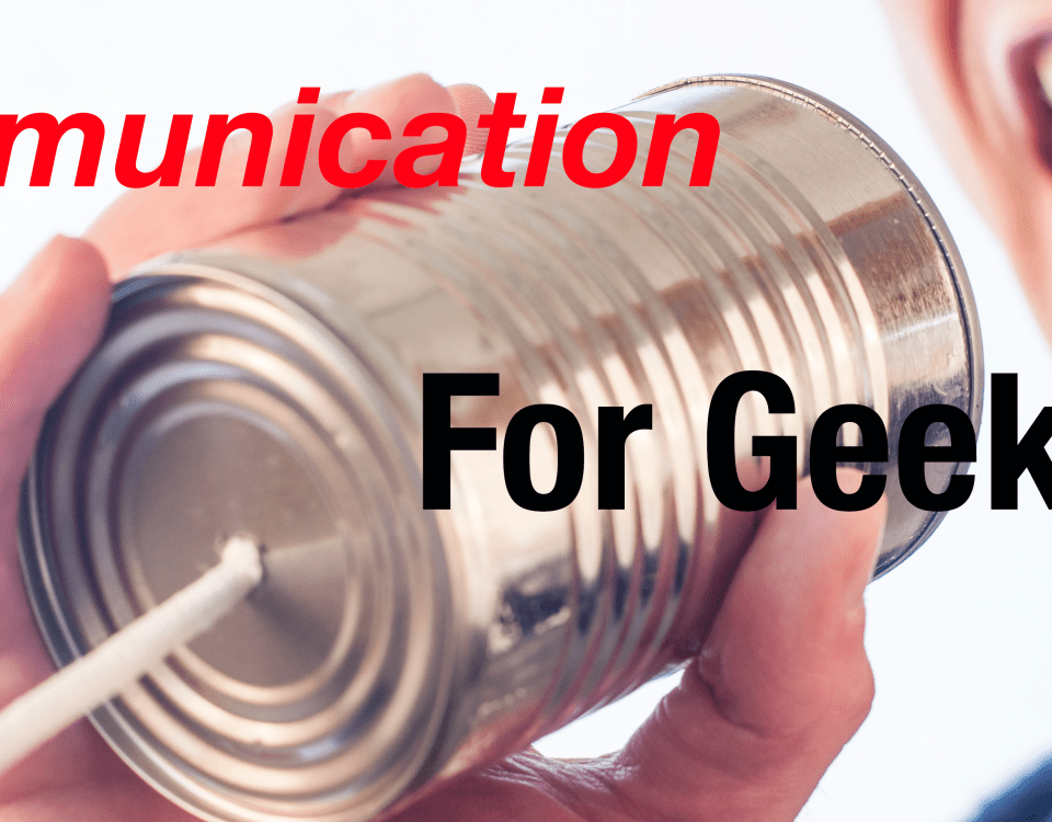 communication for geeks