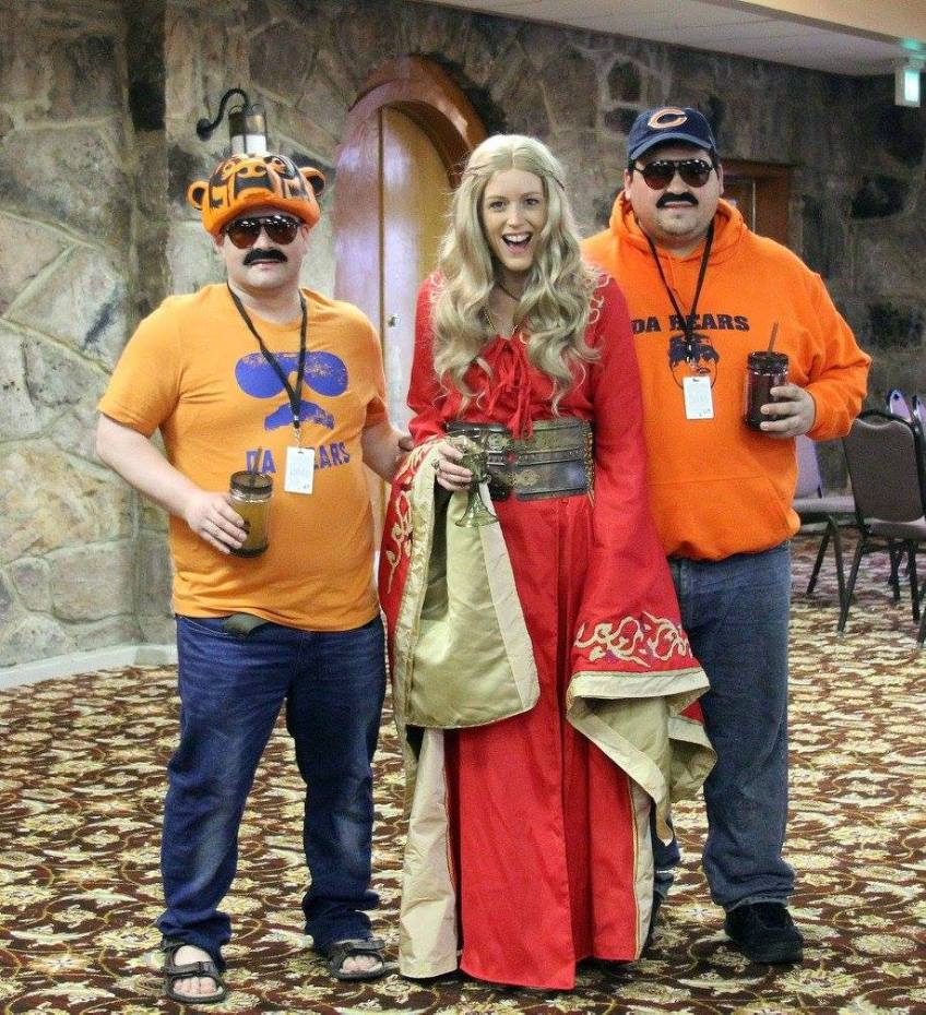 Ice and Fire Con Da Bears and the Maiden Fair