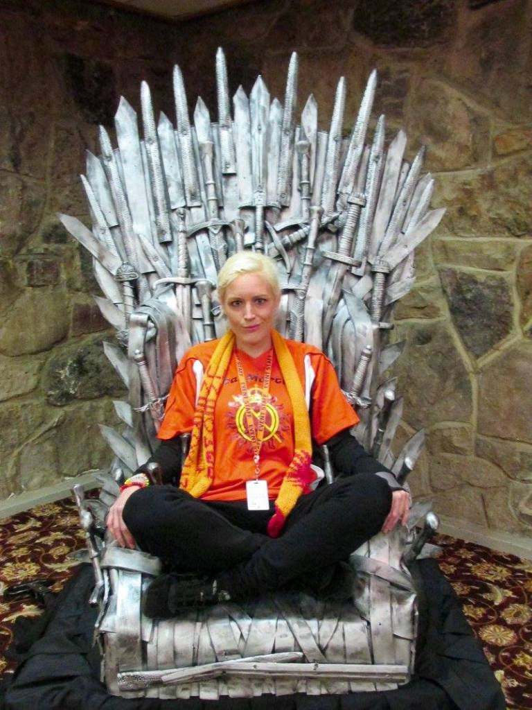 Ice and Fire Con Iron THrone