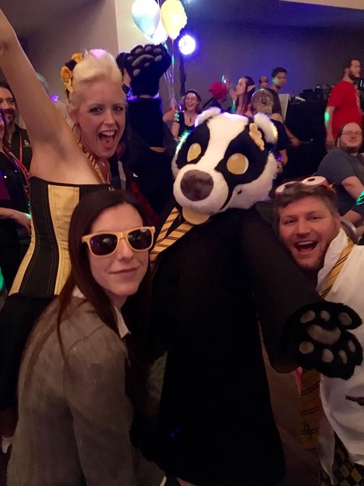 Dragon Con 2016 Hufflepuff Cosplay