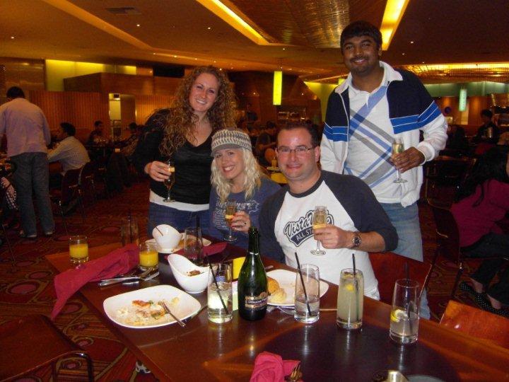 Las Vegas December 2010 Mirage Champagne Brunch