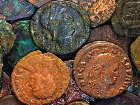 Old Roman coins, may be inflated. New times, the same ageless problems.
