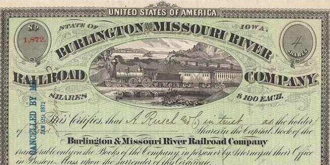 (Photo: Burlington and Missouri River Railroad Company, 1872.