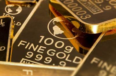 Gold bars, high in demand in inflation times.