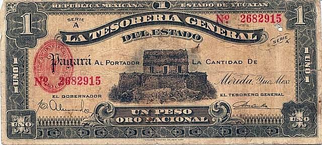 Old Mexican peso (Pixabay.com)