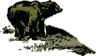 The bear is the symbol of downtrends on the stock and commodity exchanges.