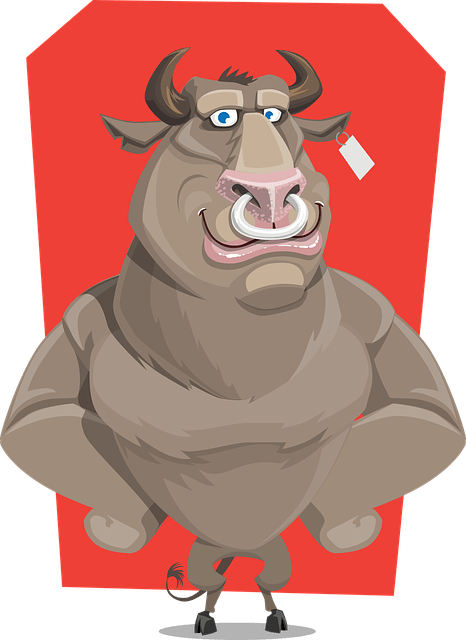 Bull, the Symbol of the Up-trends.