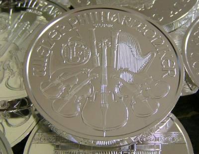 Austrian Philharmonics Silver Coin