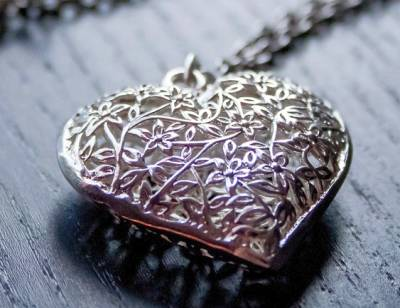 Silver Jewelry Heart