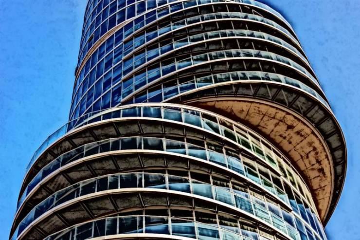 Strange Skyscraper in Bochum, Germany.