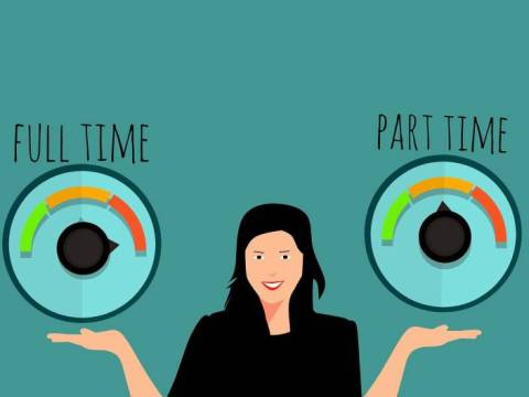 Part-time-job or fill-time job? A dilemma or a fate?