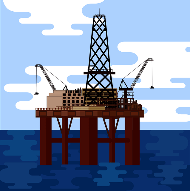 Crude Oil Offshore Platform