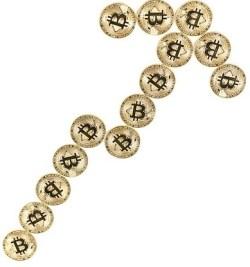 Bitcoin skyrocketing