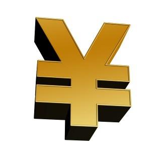 Japanese yen sign