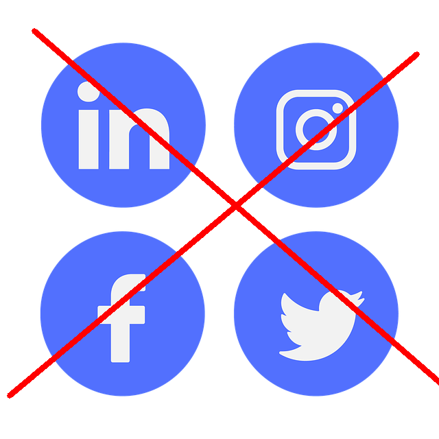 Facebook, Instagram, LinkedIn, Twitter Icons