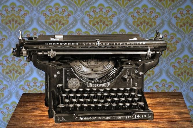 The typewriter of the guru?
