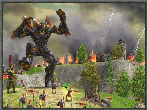 Resultado de imagem para age of mythology titans