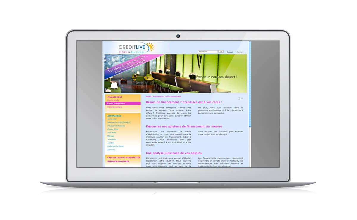 Création du contenu rédactionnel d'un site d'assureur
