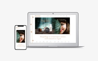 Création site e-commerce cosmétique naturel