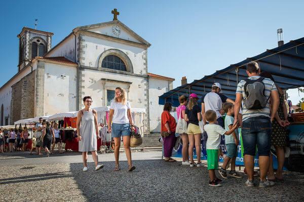 Saint Gilles Croix de Vie Eglise
