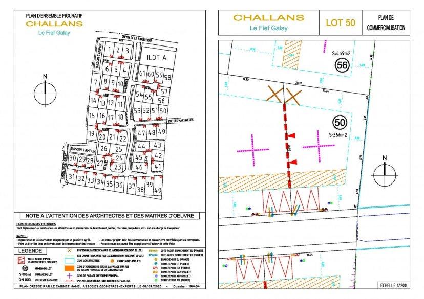 CHALLANS - Terrain 366 m2 Nouveau lotissement à Challans - Eliot Immobilier Challans