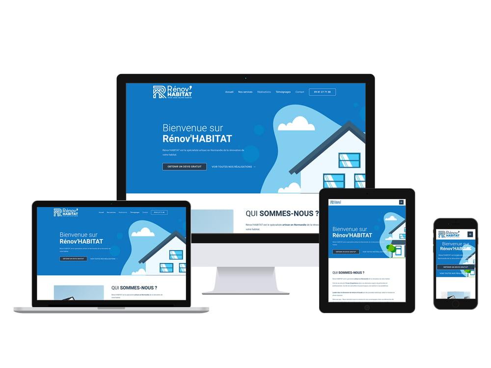 Site internet Rénov'Habitat