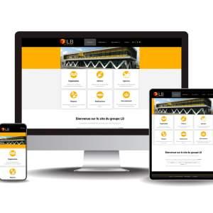 Site internet Groupe LB