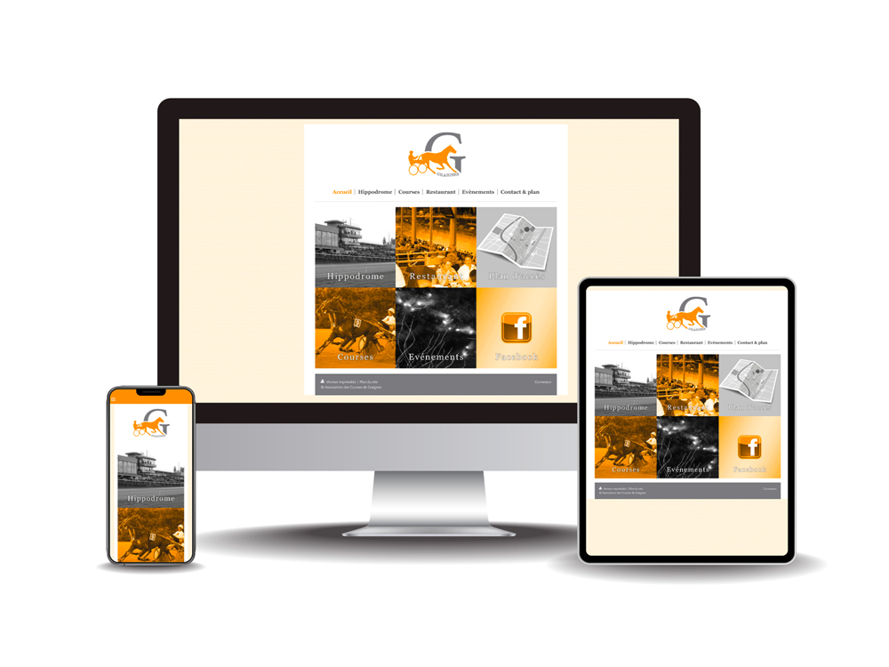 Site internet hippodrome de Graignes