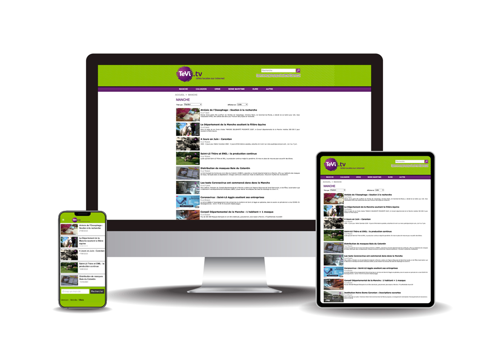 Site internet Tévi