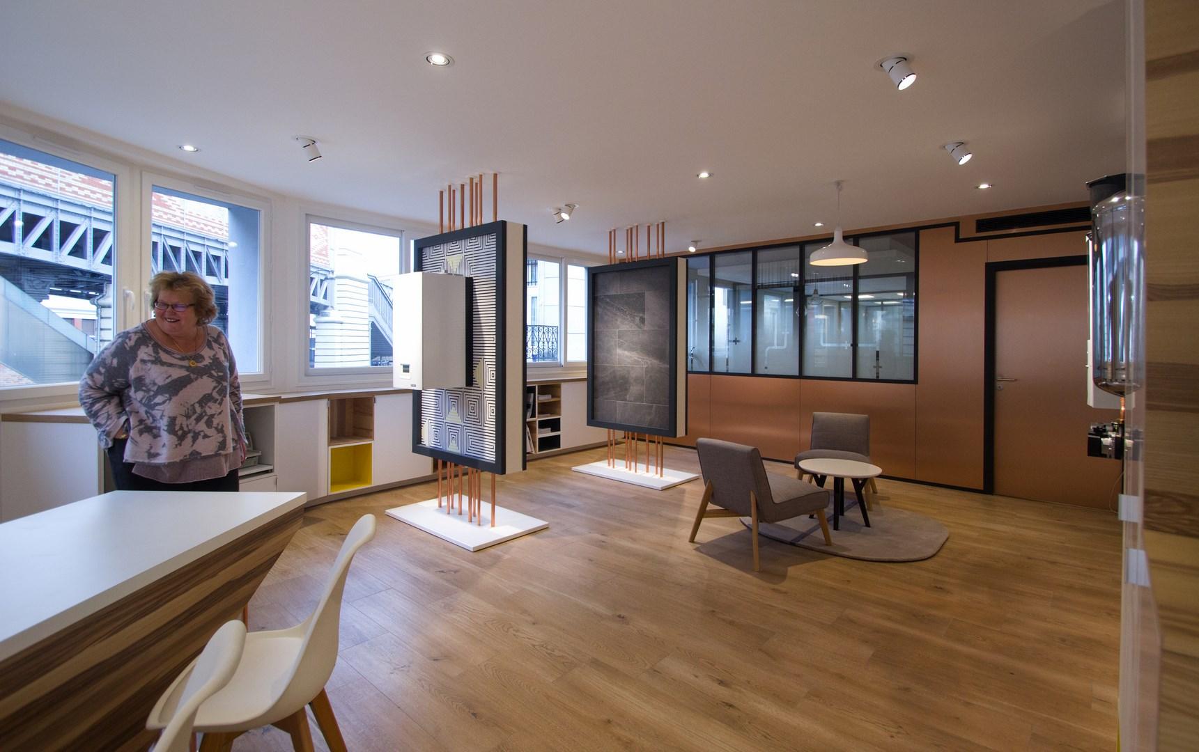 Concept Showroom Entreprise Batiment MP Gaz