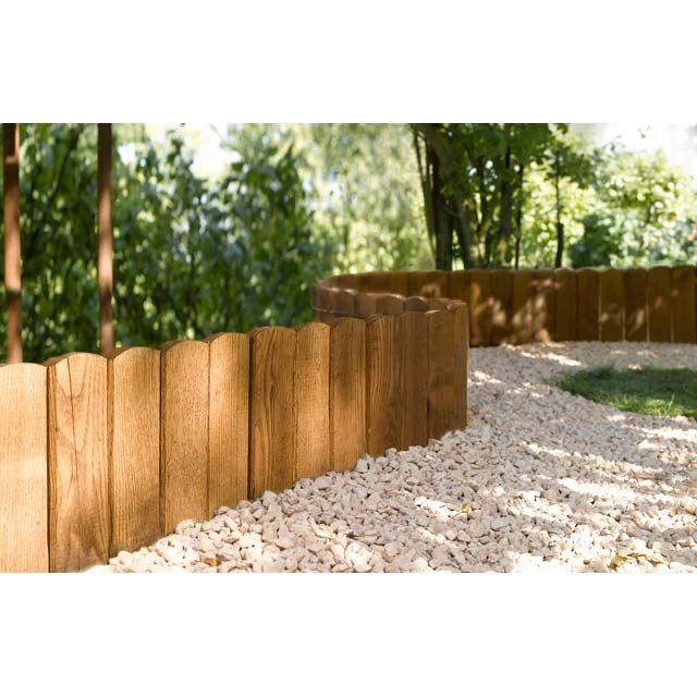 bordure a planter bois dune l 115 x h