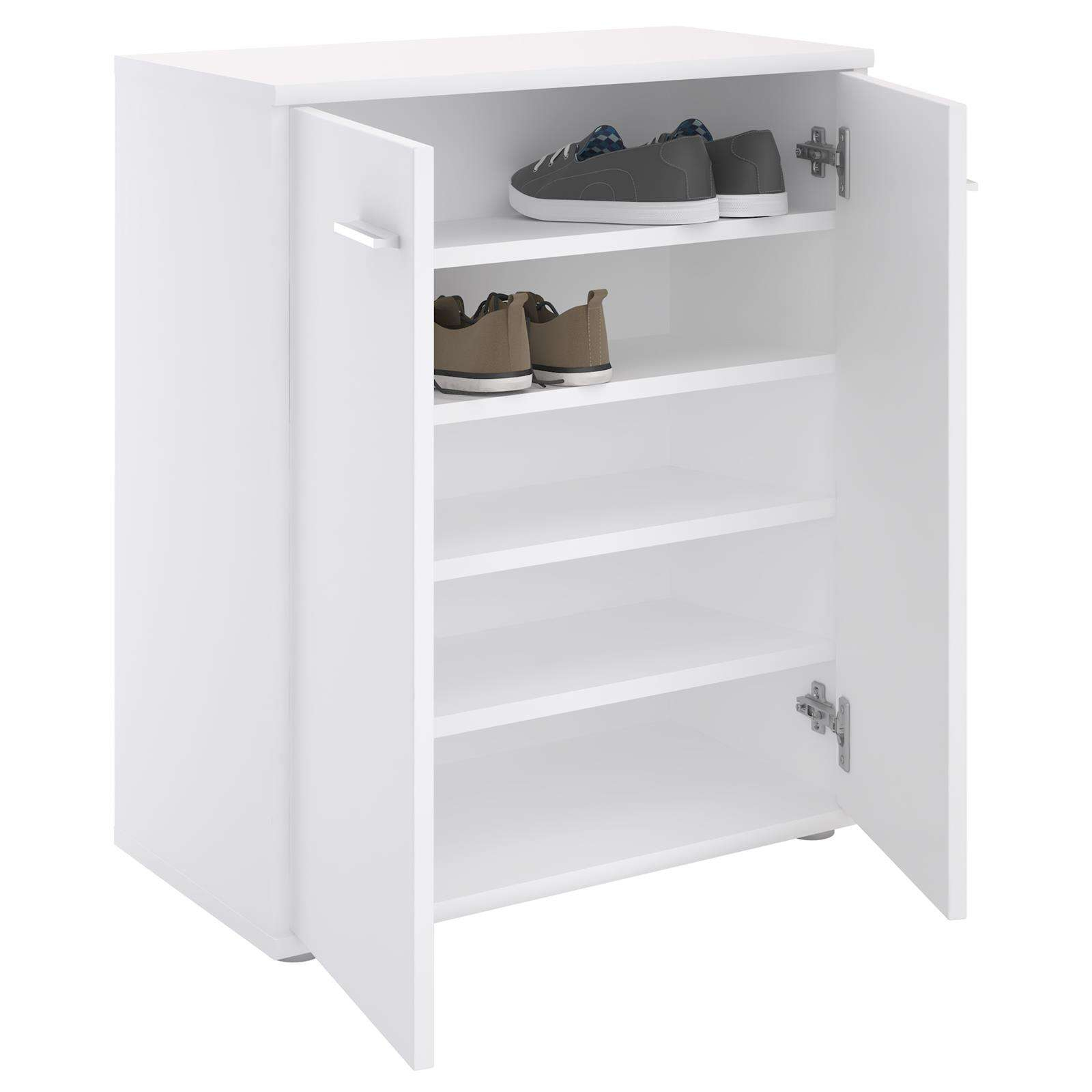 meuble a chaussures olympe en melamine