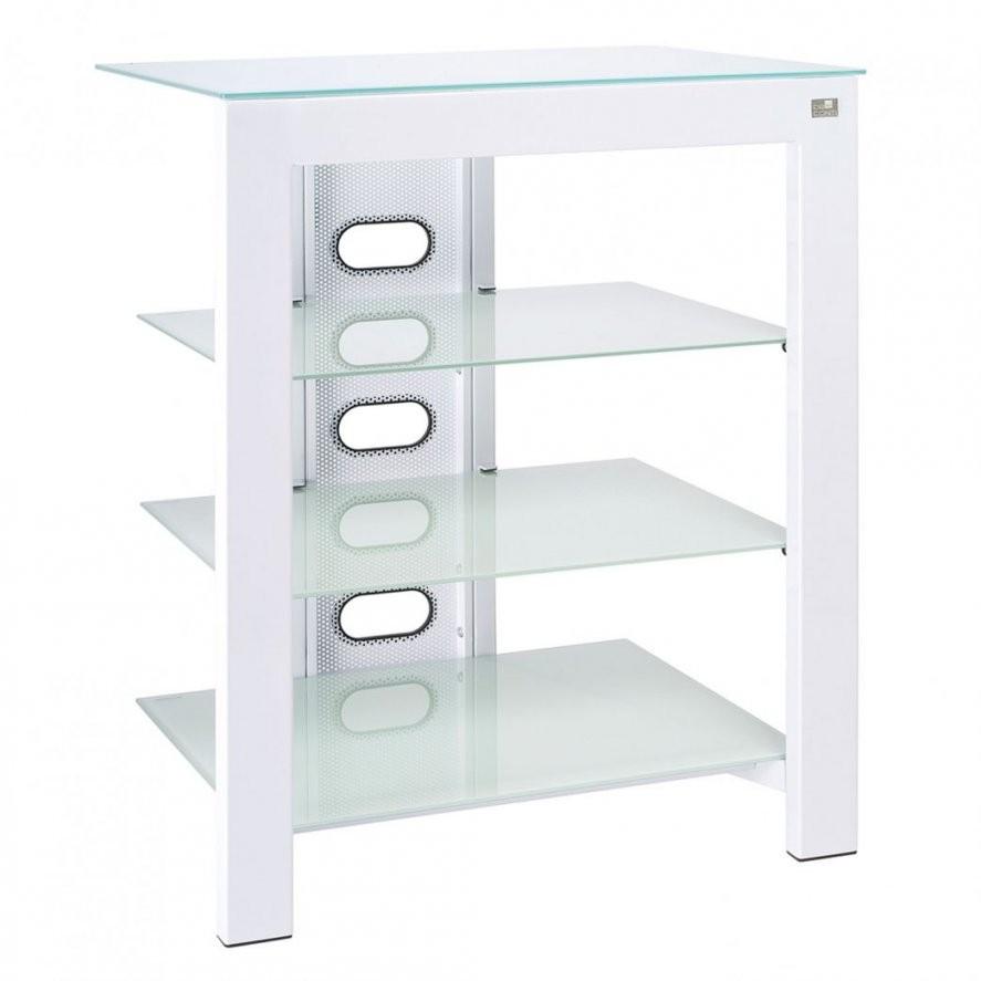 meuble hifi verre confortable meuble