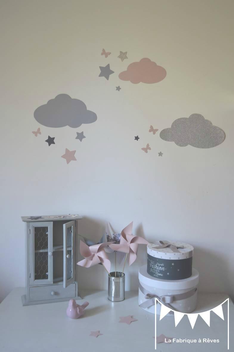 decoration nuage chambre